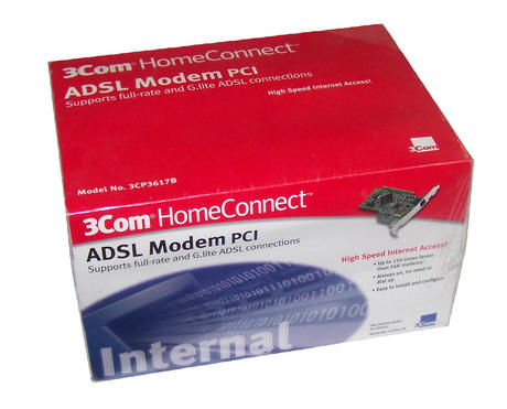 New 3Com 3CP3617B PCI ADSL Modem Card Thumbnail 1