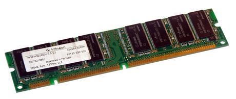 Infineon HYS64V32220GU-7.5-C2 256MB SDRAM PC133U 133MHz DIMM 168-pin Memory RAM