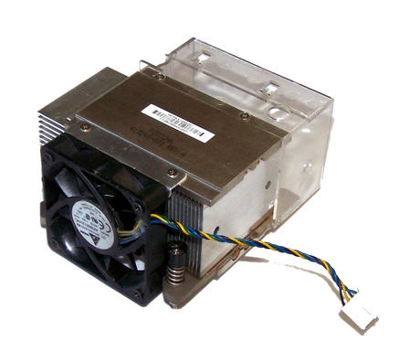 HP 413248-001 dc7700 USDT Ultra Slim Socket T LGA775 Heatsink and Fan Assembly