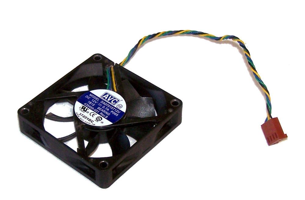 HP 435499-001 dc7700 USDT Ultra Slim Desktop Case Fan | AVC DA07015T12U