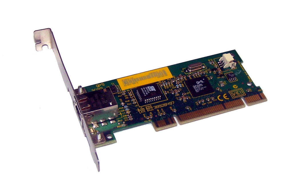 3Com 03-0247-000 3C905CX-TXM PCI 32-Bit 1-Port 10/100 Ethernet Card RJ45