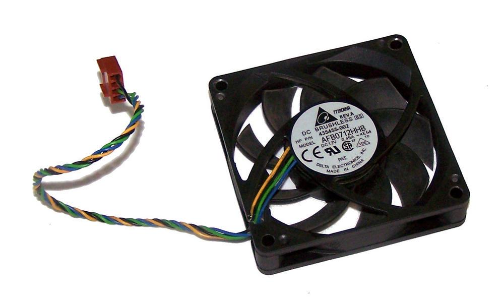 HP 435455-002 dc7700 USDT Ultra Slim Desktop Case Fan | Delta AFB0712HHB