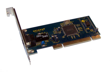 Netgear FA311 R C1 PCI 32-Bit 1-Port 10/100 Ethernet Card | Std Profile Bracket Thumbnail 1