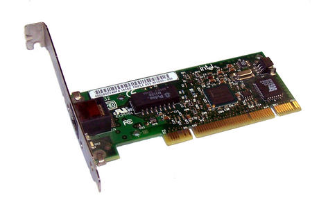 IBM 22P4519 PCI 32-Bit PRO/100 S Triple DES 1-Port 10/100 Ethernet Card RJ45 WOL Thumbnail 1