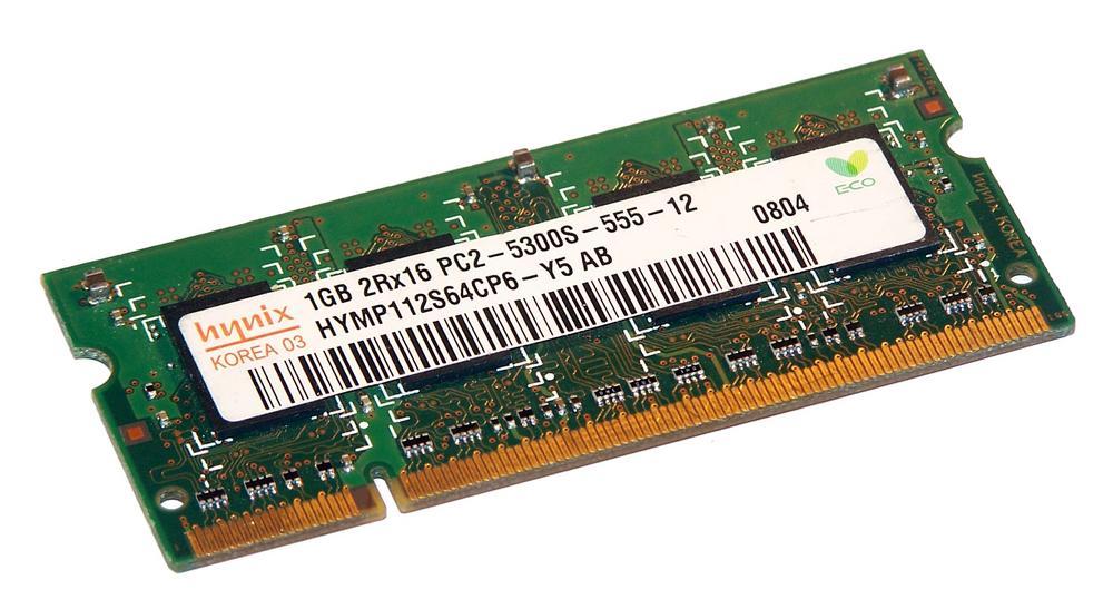 Hynix HYMP112S64CP6-Y5 AB (1GB DDR2 PC2-5300S 667MHz SO DIMM 200-pin) Memory