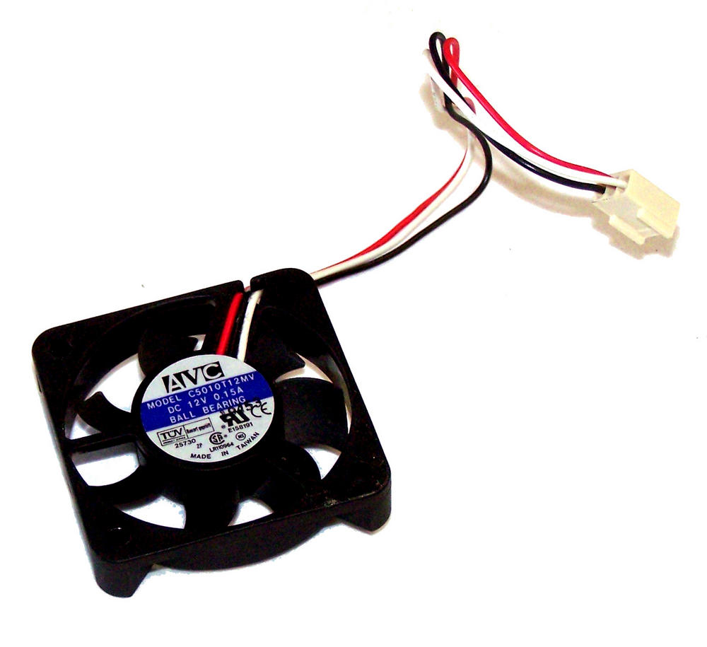 AVC C5010T12MV 12VDC 0.15A 3-wire 50mm x 10mm Fan | 16cm 2510 Connector