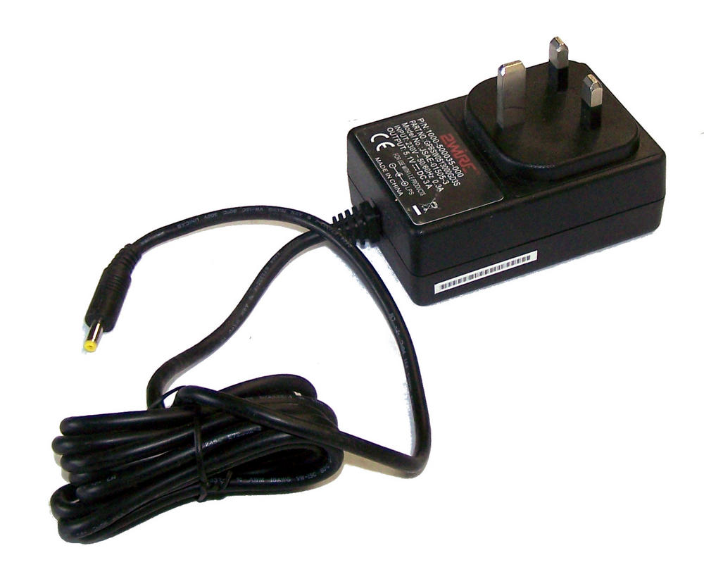 2Wire 1000-500035-000 5.1VDC 3A AC Adapter with UK Plug | GPBSW0513000GD3S