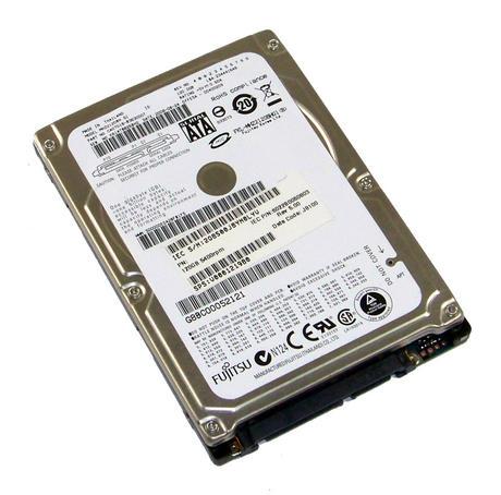 "Toshiba G8BC00052121 Fujitsu MHZ2120BH G1 120GB 5.4K 2.5"" SATA Hard Disk Drive"