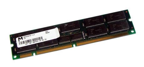 Micron MT9LD872G-6X (64MB EDO ECC 60ns Gold 168-Pin DIMM) Memory Module