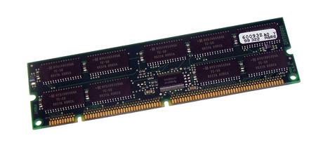 Dataram DTM60093Z (128MB EDO ECC 50ns Gold 168-Pin DIMM) Memory Module