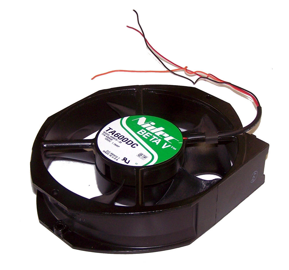 Nidec 960649 A33875-33 Beta V TA600DC 150mm x 38mm 12VDC 1.7A 3-wire Fan 25cm Un