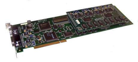 Zandar MVG2 Rev 6 PCI Omni Video Card with MV4 Daughterboard