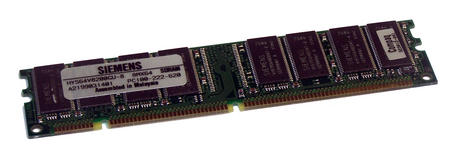 Compaq 323012-001 Siemens HYS64V8200GU-8 (64MB SDRAM PC100U 100MHz DIMM 168-pin)