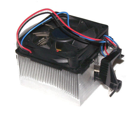 AMD NBT-K1011AE1DBSCB-001 Socket 754 CPU Heatsink and Fan | 3-Pin 12VDC