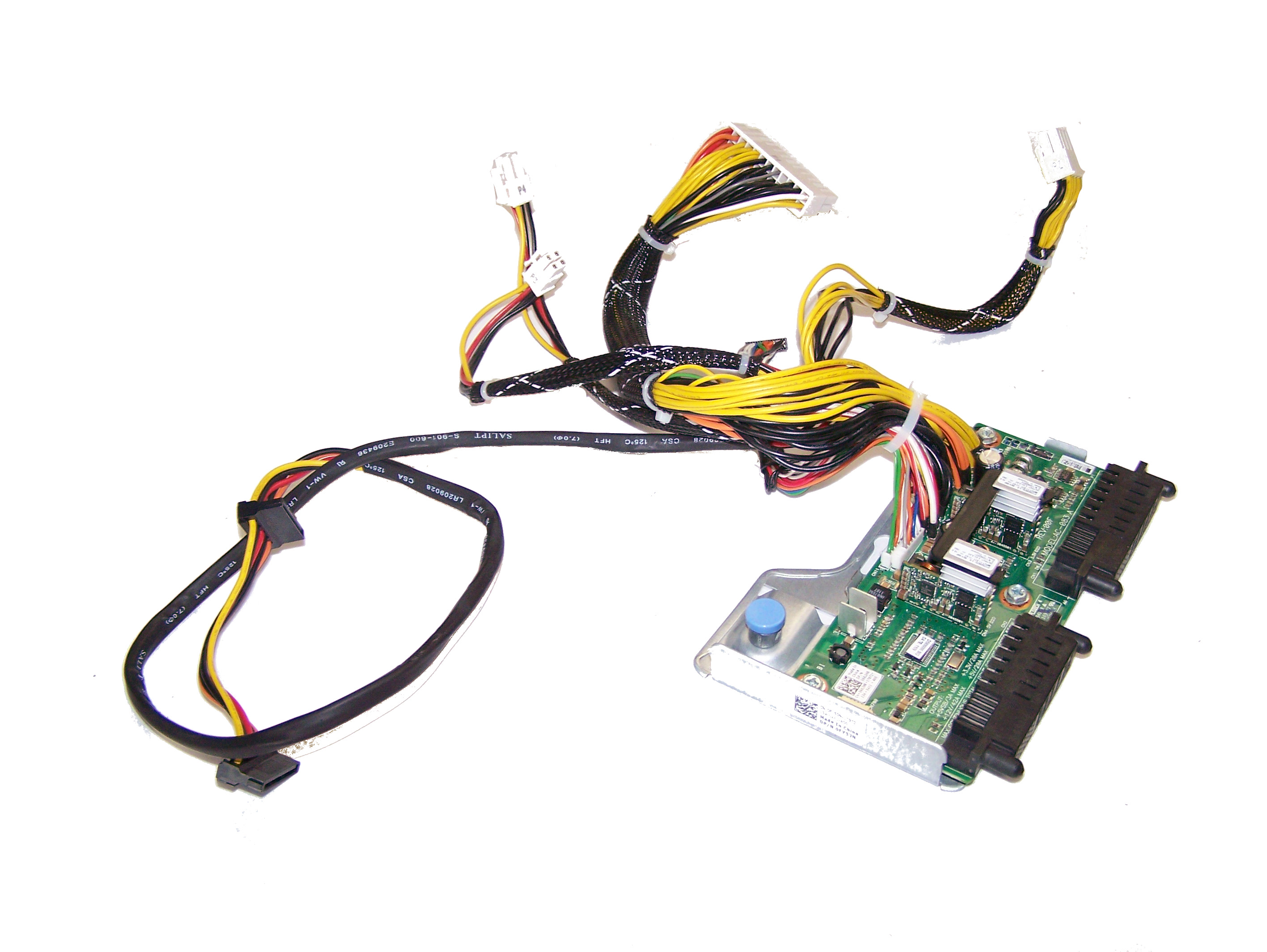 Details about Dell 662HR PowerEdge T410 Power Supply Backplane   0662HR