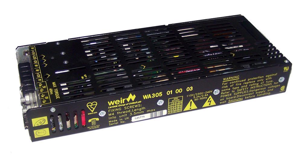 Weir Lambda WA305 01 00 03 Power Supply