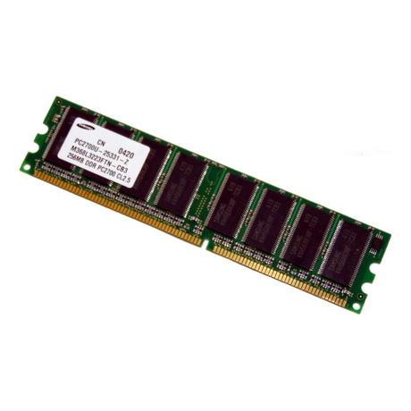 Samsung M368L3223FTN-CB3 (256MB DDR PC2700U 333MHz DIMM 184-pin) Memory Module