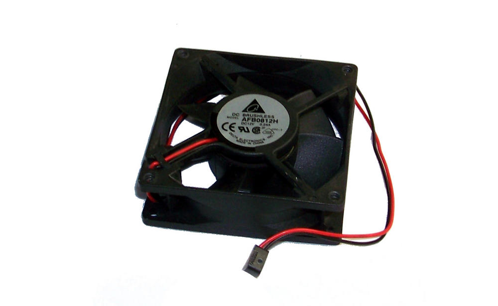 Delta AFB0812H-CPC2 12VDC 0.24A 80mm X 25mm 2-Wire Fan   27cm