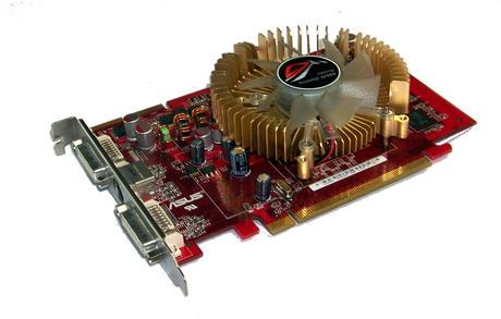 Asus EAH2600XT/HTDP/256M/A Radeon HD2600XT 256MB PCIe Dual DVI Graphics Card