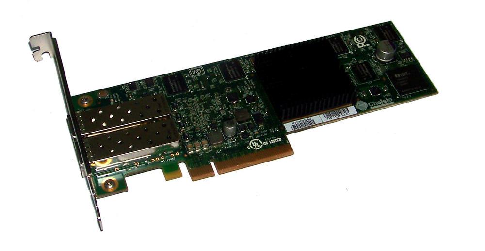 Chelsio S320E-LP-CR |  PCIexpress 8x Dual port 10Gbps 2 x SFP Network Card Stand