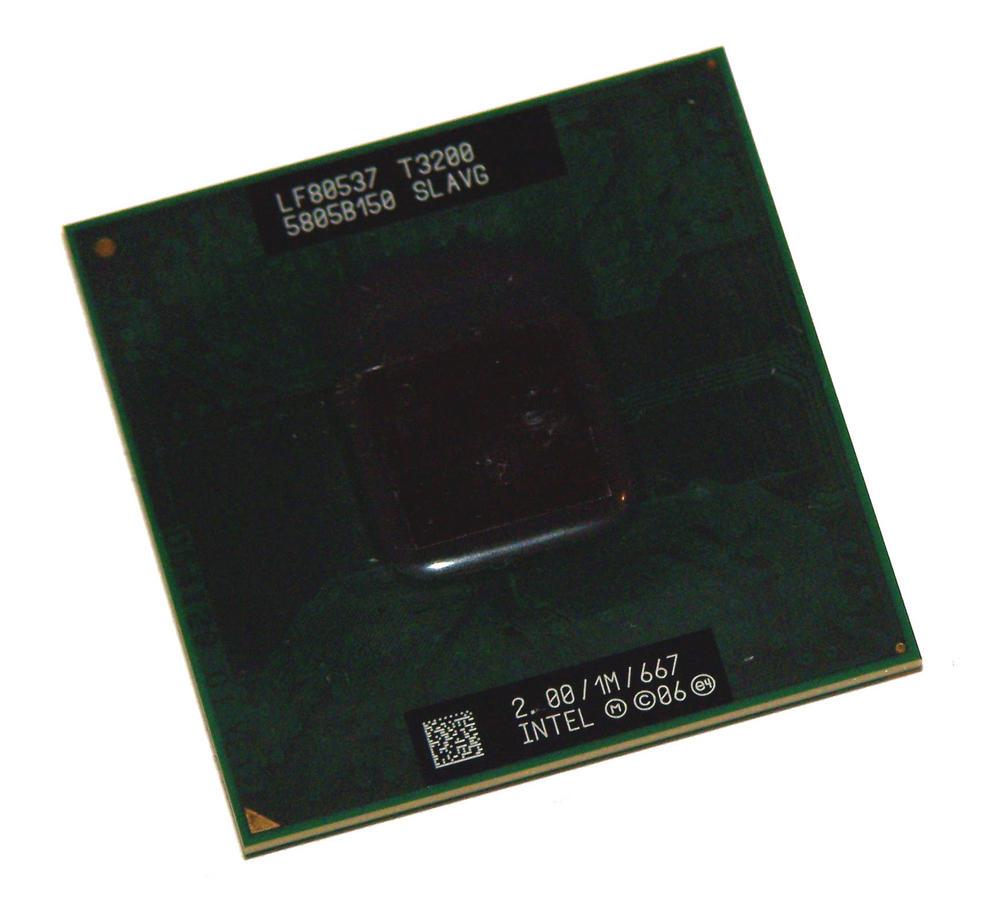 Intel LF80537GF0411M Pentium Mobile T3200 2.00GHz Socket P Processor SLAVG
