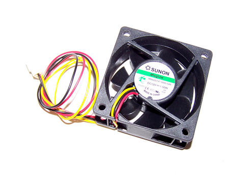 Sunon MB60251V1-0000-G99 60mm x 25mm 12VDC 1.5 3-Wire Fan | 33cm 2510