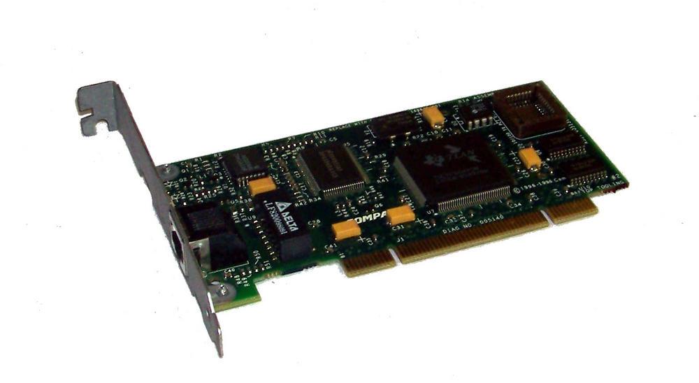 Compaq 005139-001 PCI 1-Port 10/100 Ethernet Card | SPS 169849-001 Std Profile