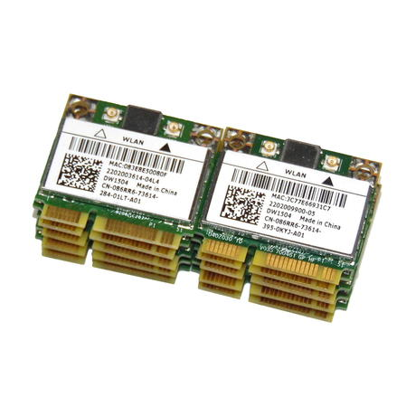 Job Lot of 10 x Dell 86RR6 Latitude E5530 E6330 Wireless-N DW1504 WiFi Card Thumbnail 1