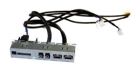 HP 657122-001 Pro 3405 3500 MT Front IO Ports | Card Reader USB and Audio Thumbnail 1