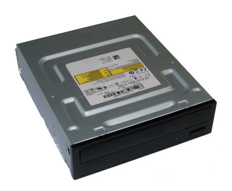 Dell D5PV2 SATA H/H DVD-RW Drive with Black Bezel  Model TS-H653G | 0D5PV2