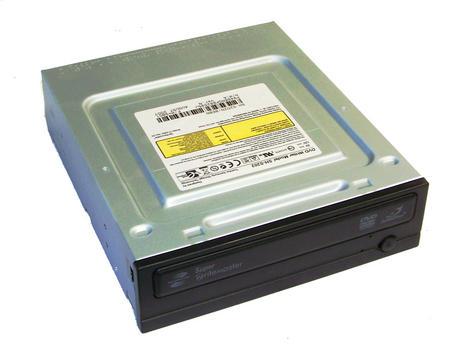 TSST SH-S202 Half Height ATA/IDE DVD Recorder Drive   Black Bezel Thumbnail 1
