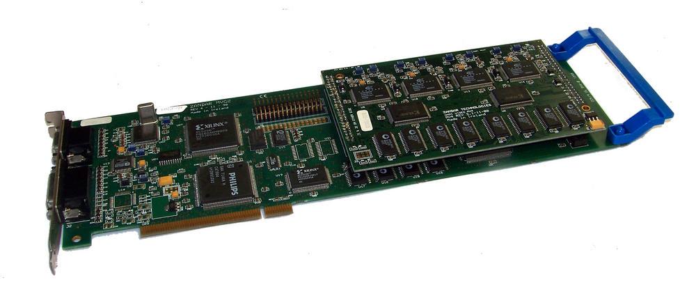 Zandar MVG2 Rev 4 PCI Omni Video Card with MV4 Daughterboard