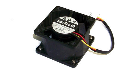 Sanyo Denki 9G0612G1031 San Ace 60 12VDC 1.54A 60x38mm  3-Wire Fan 2695 13cm
