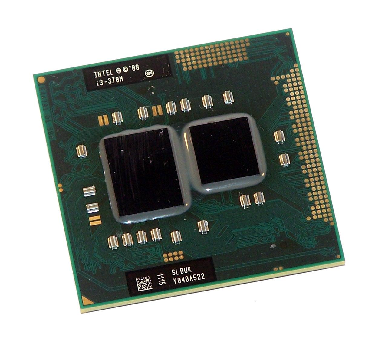 Intel SLBUK Core i3-370M M Laptop CPU Processor G1 2.4GHz 3MB