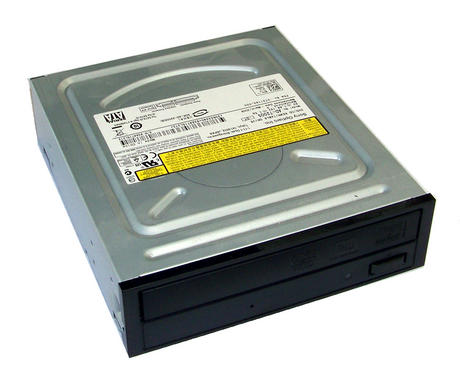 Dell DW559 Inspiron 545 Black Bezel SATA H/H DVD Recorder Drive  AD-7200S 0DW559 Thumbnail 1