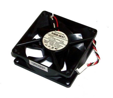 Cisco 800-23841-01 3825 12VDC 0.38A 80mm x 25mm 3-wire Fan | 3110GL-B4W-B79