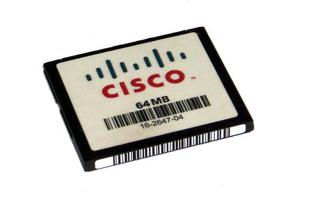 Cisco 16-2647-04 2811 2851 3825 64MB Compact Flash CF Card