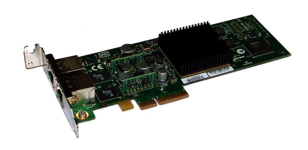 Chelsio 110-1090-30 PCIexpress Dual port 10/100/1000 Network Card | Low Profile