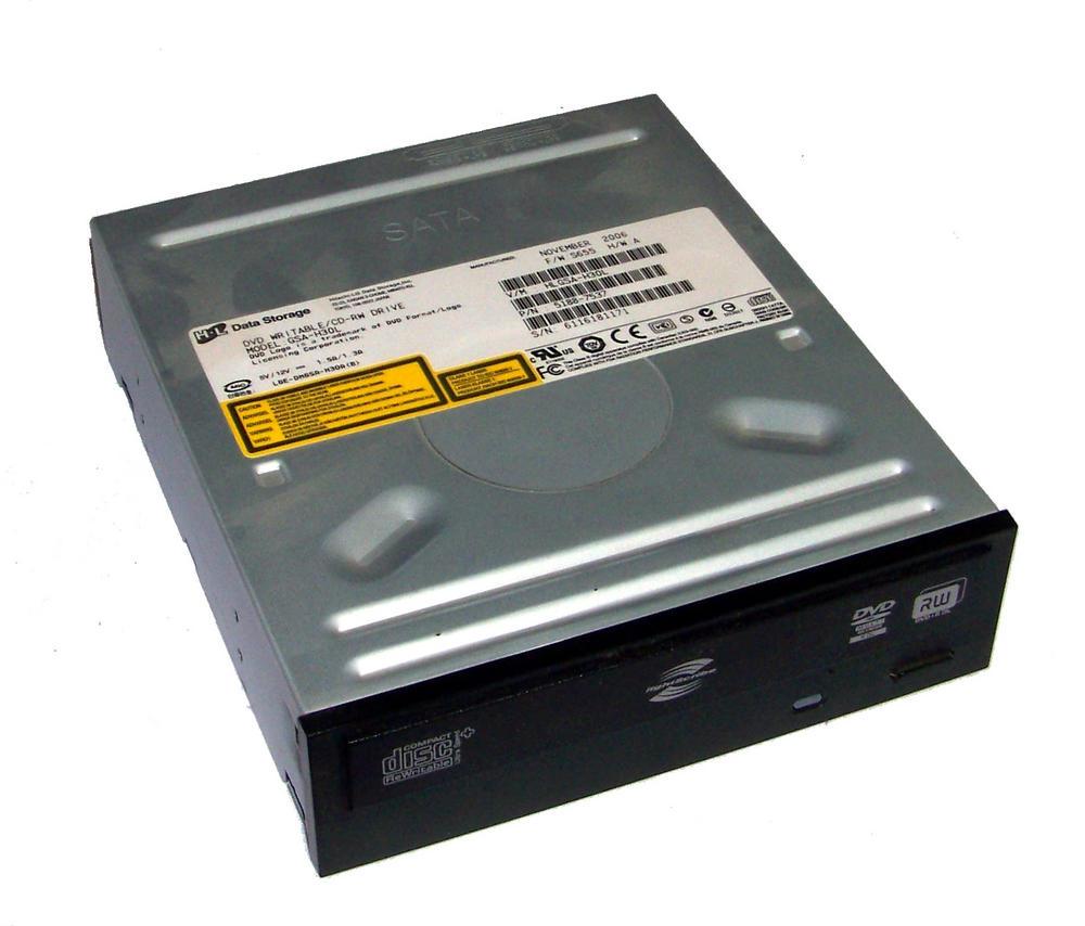 HP 5188-7537 Pavilion a6000 SATA H/H DVD-RW Drive | Black Bezel Model GSA-H30L