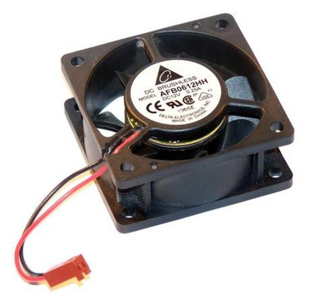 Delta AFB0612HH 12VDC 0.25A 60mm X 25mm 2-Wire Fan for 1U Cisco 2600 PIX515