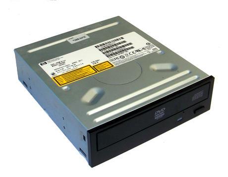 HP 575781-201 Jack Black Bezel SATA H/H DVD-ROM Drive DH40N | SPS 581599-001 Thumbnail 1