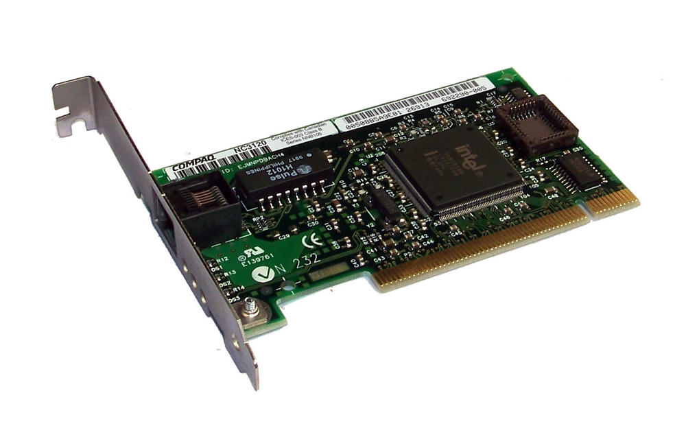 Compaq 317607-001 NC3120 PCI Single Port 10/100 Ethernet Card Std SPS 317606-001