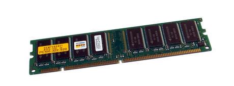 Compaq 323012-001 HYM7V65801BTFG-10S (64MB SDRAM PC100U 100MHz DIMM 168-pin)