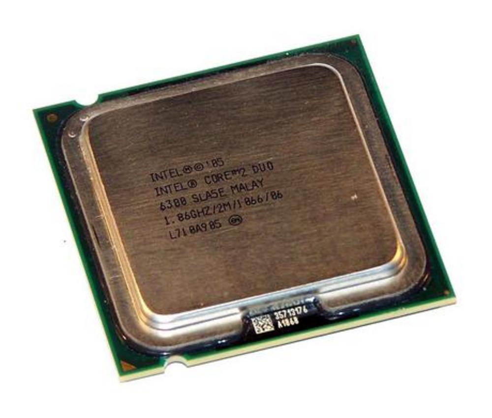 Intel HH80557PH0462M Core 2 Duo E6300 1.86GHz Socket T LGA775 Processor SLA5E