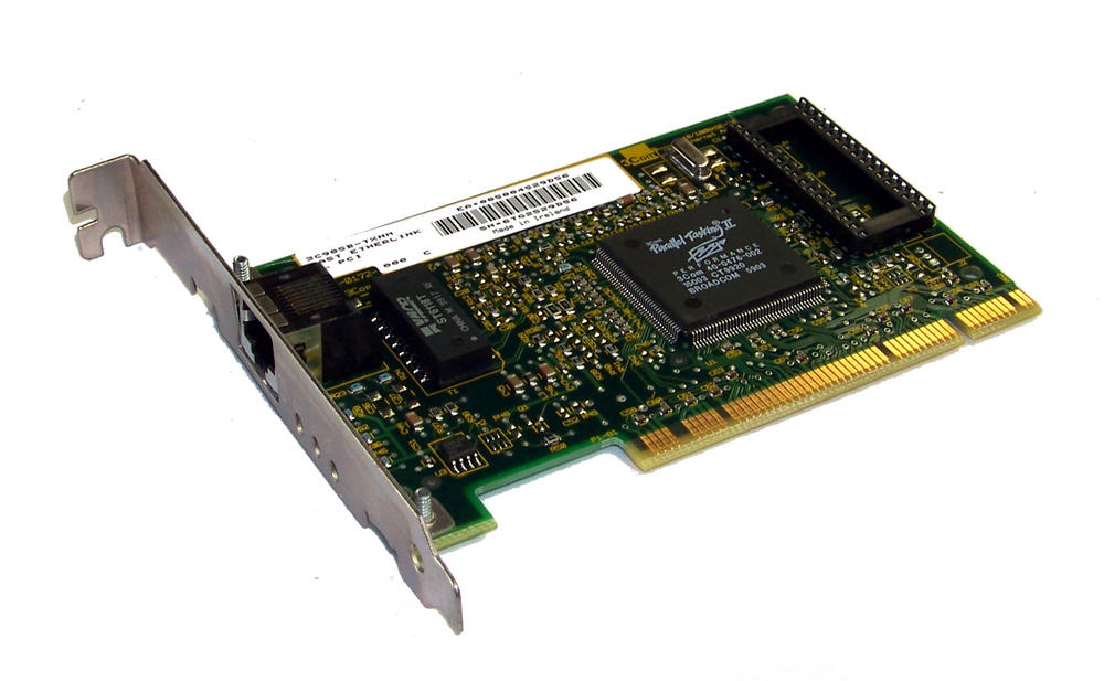 3Com 03-0172-000 3C905B-TXNM PCI 32-Bit 1-Port 10/100 Ethernet Card RJ45