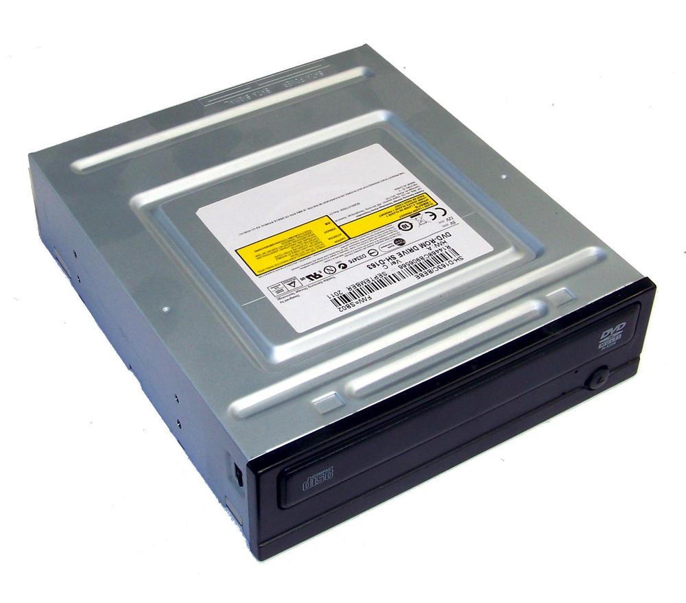 TSST SH-D163C/BEBE SATA H/H DVD-ROM Drive | Black Bezel SH-D163 RoHS