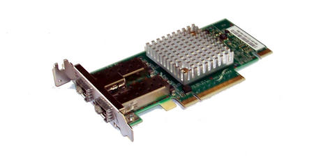 Solarflare SF329-9021-R7.2 PCIexpress 8x Dual port 10Gbps 2xSFP Network Card LP Thumbnail 1