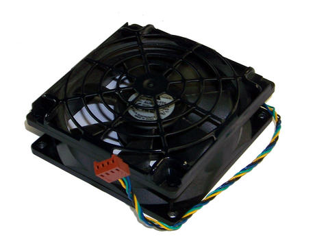 Delta AUB0912VH-6A36 92mmx25mm 4-Wire 12VDC 0.60A Fan| HP dc5700 MT Fan Thumbnail 1