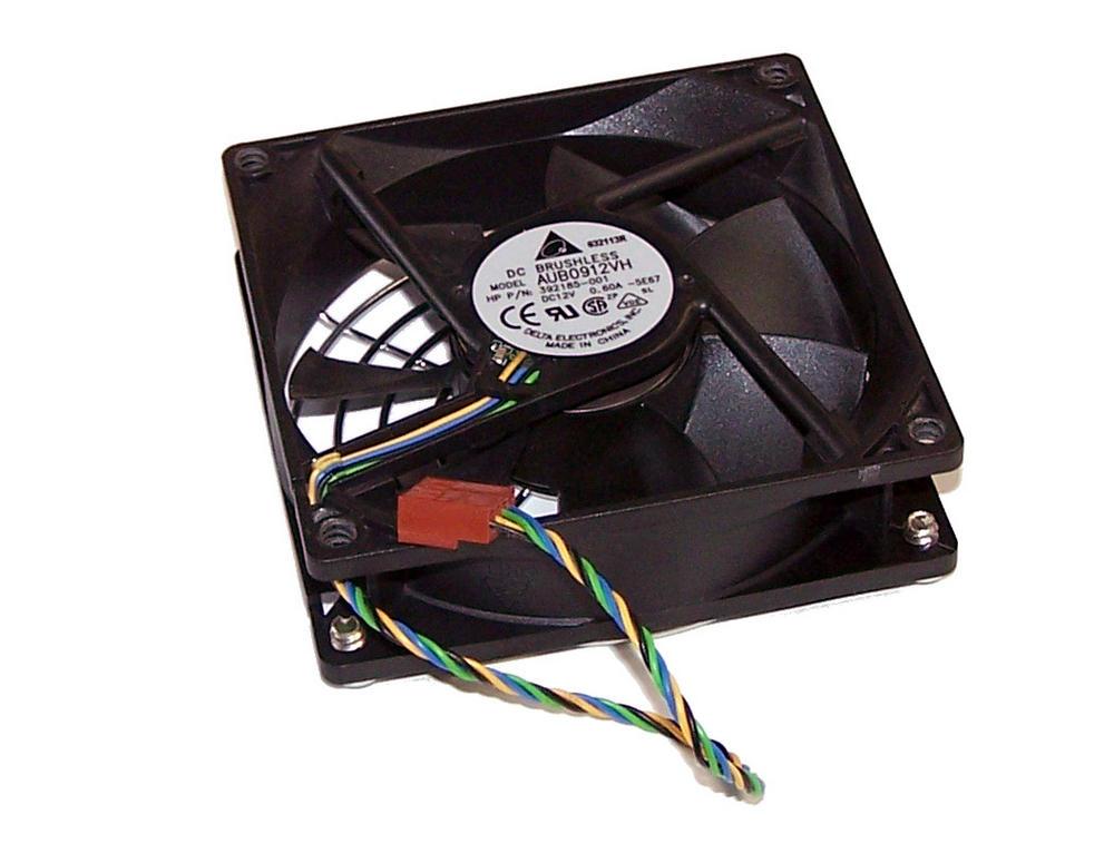 HP 392185-001 dc5100 MT Microtower 12VDC 0.6A Case Fan   Delta AUB0912VH-5E67