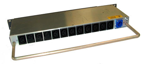 TSL MDU12-2 12-Way 5A Individually Fused 1U 16A Rack Mounted PDU Thumbnail 2